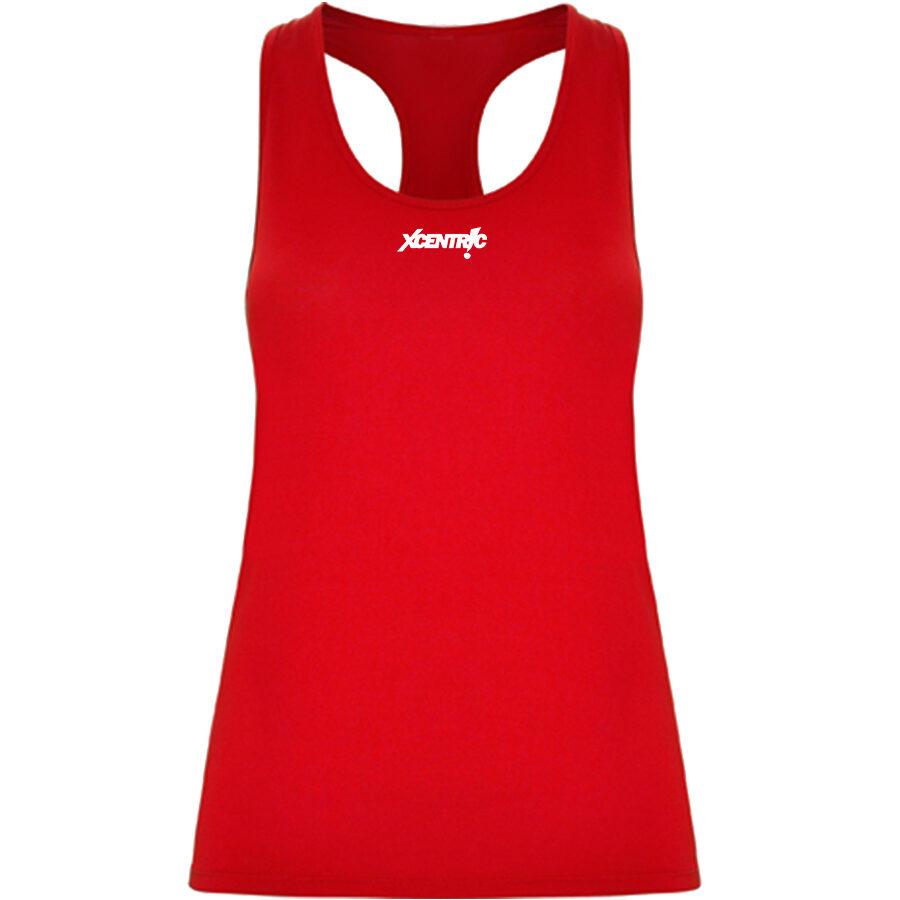 Camiseta nadadora (Rojo)