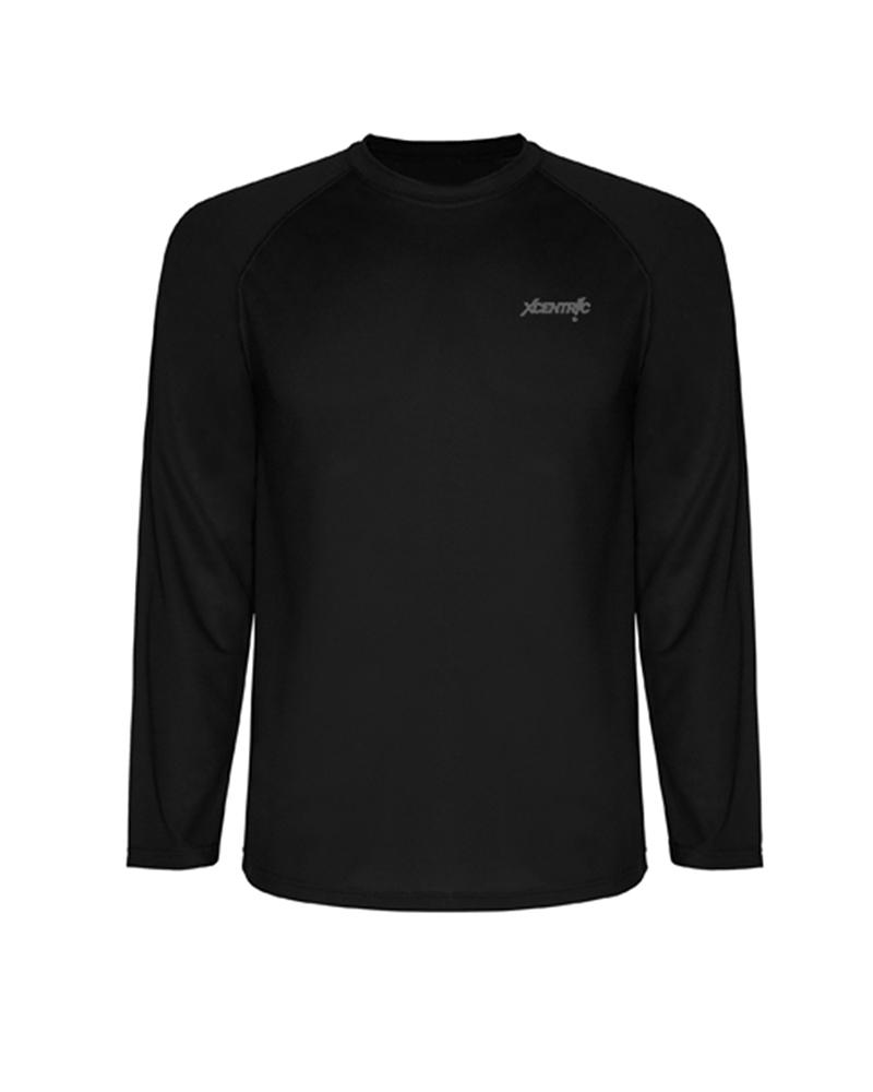 T-Shirt manga larga (Negro)